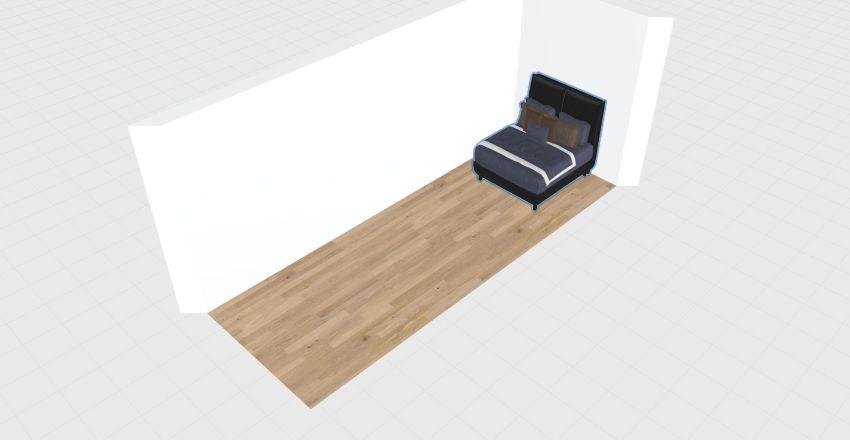 minihome 1 bed Interior Design Render
