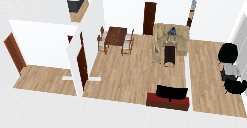 Casa de Daniel Interior Design Render