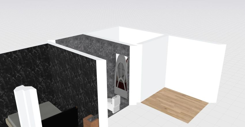 The house of legendariness. Interior Design Render