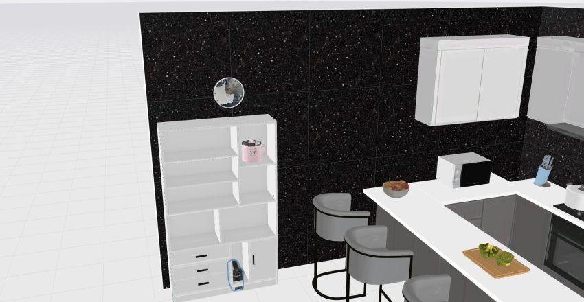 mi cook Interior Design Render