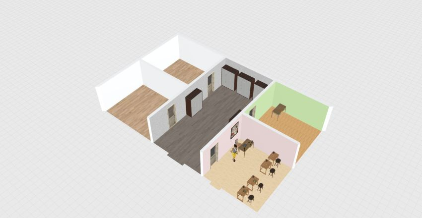 Emerald Prep Interior Design Render
