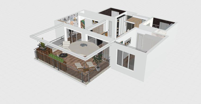 condo in flordia Interior Design Render